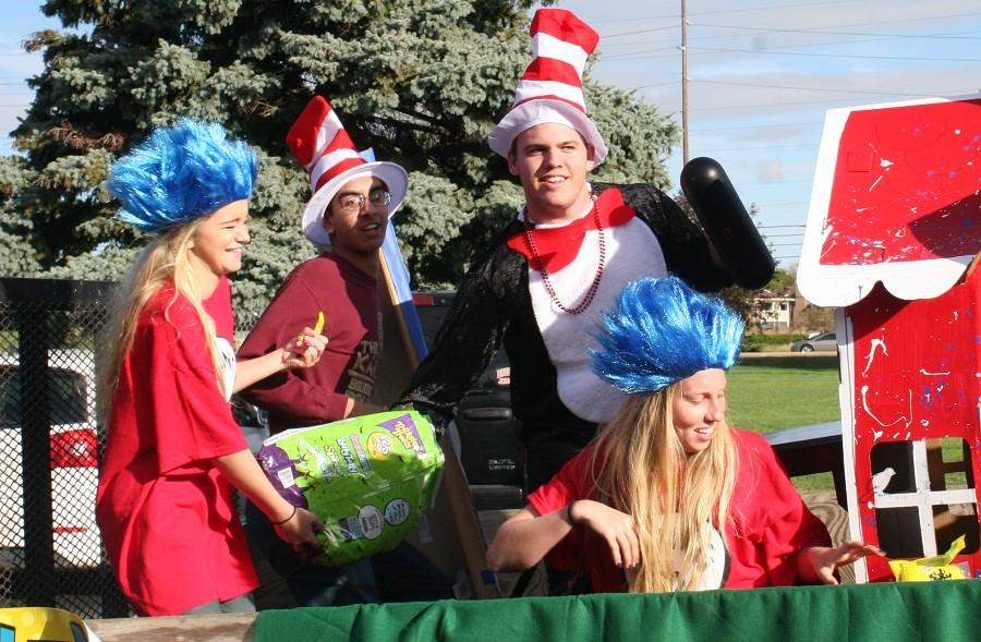 Homecoming Parade Showcases Class Themes