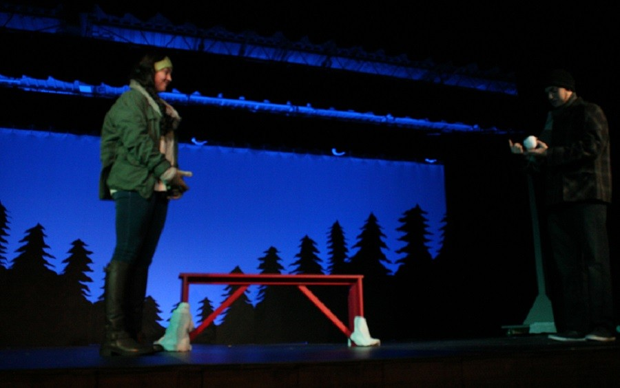 Brebeuf Students Take the Maine Stage