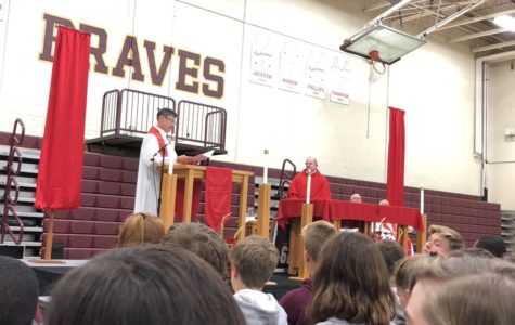 Father Bill installed as 12th president of Brebeuf