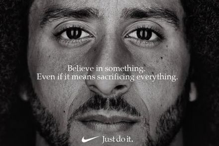 """Just do it""  Featuring Colin Kaepernick"