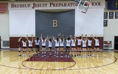 Brebeuf Volleyball Undefeated Season