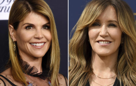 A composite photo shows actress Lori Loughlin and Felicity Huffman -- two notable names in what the Justice Department says is a massive cheating scheme that rigged admissions to elite universities.