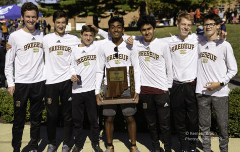 Boys Cross Country Teams wins Sectional Championship