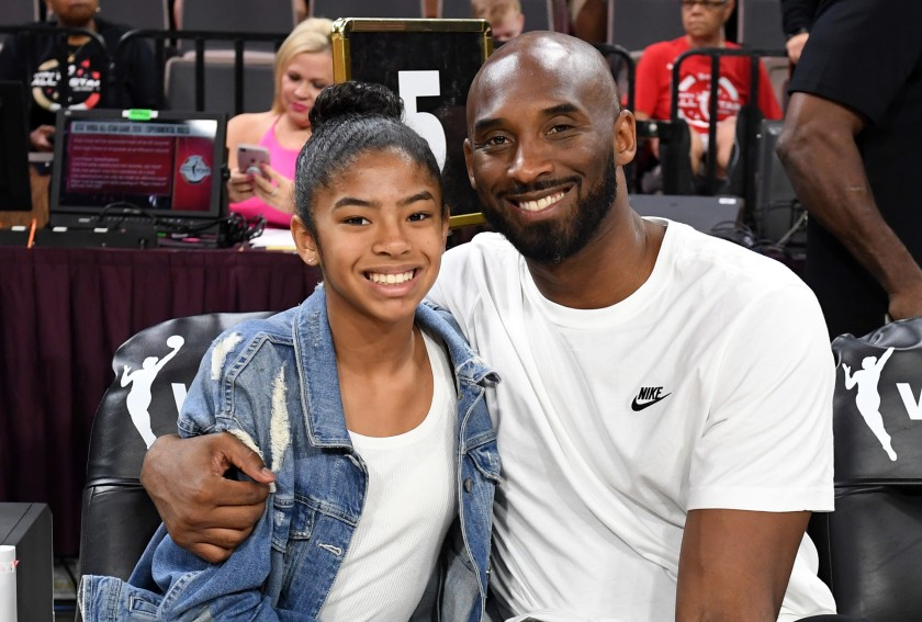 Kobe Bryant and his Daughter Gianna Photo Credit: LA Times