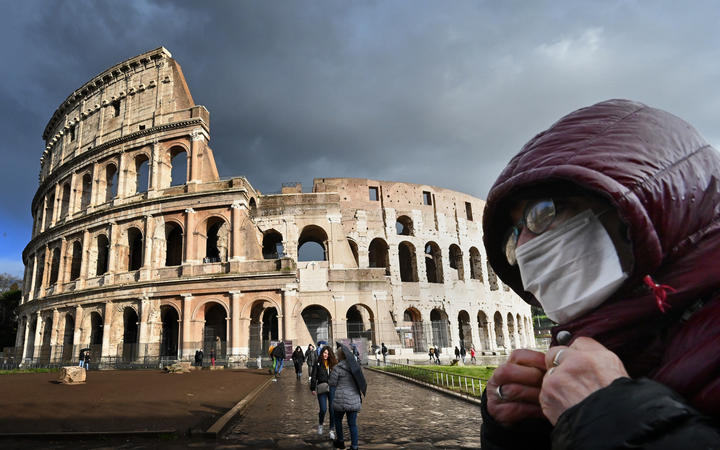 Italy on a country-wide lockdown Photo Credit: RNZ