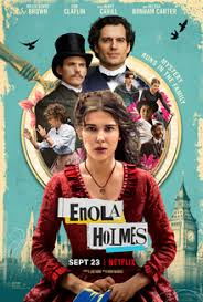 Enola Holmes movie poster  Photo Credit: Netflix