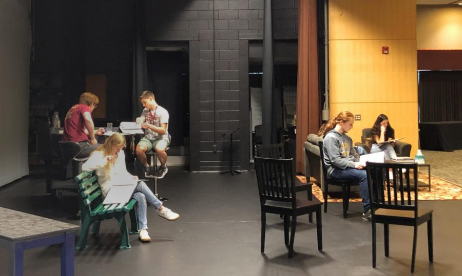 Fall play: '110 Stories'